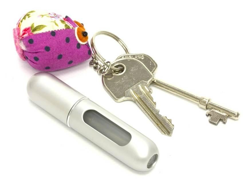 Travelo refillable mini pocket travel spray - main